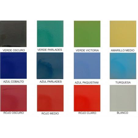 Azulejos standard 10 X 10 de varios colores