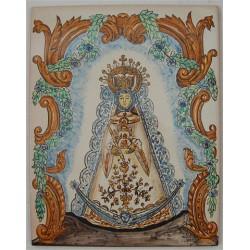 Virgen del Rocío 26X33 cm.